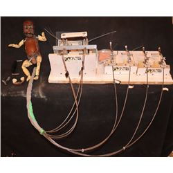 ANIMATRONIC BABY PUPPET WITH TRIGGERS & BOARD INTACT