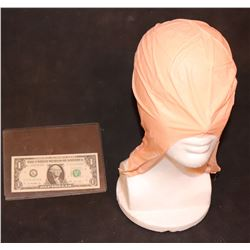 ZZ-CLEARANCE LATEX BALD CAP LARGE TRIM TO SIZE