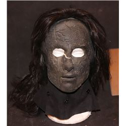 ZZ-CLEARANCE BURNED WITCH MASK WITH WIG FROM UNKNOWN PRODUCTION
