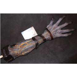 MIDNIGHT TEXAS DEMON ARM WITH ULTRA VOILET PAINT FROM UNKNOWN PRODUCTION