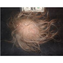 SEVERED SCALP WITH HAND PUNCHED HAIRS