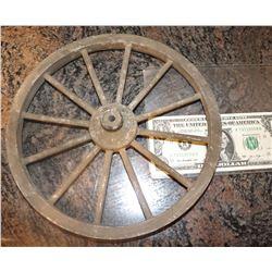 BUICK RIM WITH TIRE ANTIQUE FILMING MINIATURE