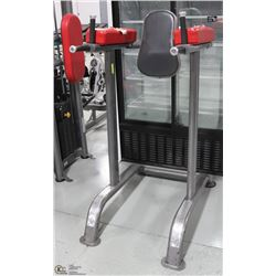 COMMERCIAL GRADE AB AND TRICEPS MACHINE