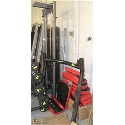 PARTIAL WORKOUT CENTER WITH SPARE PARTS