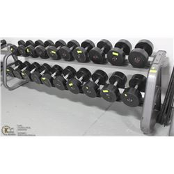 LARGE COMMERCIAL GRADE DUMBELL STAND