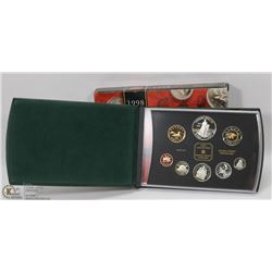 1998 CANADIAN PROOF SET IN BOX.