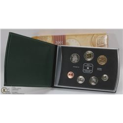 2001 CANADIAN SPECIMEN SET IN BOX.