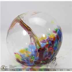 KITRAS ART GLASS WITCH BALL - TREES OF ENCHANTMENT