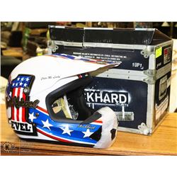 ROCKHARD HELMETS EVEL KNIEVEL COLOR ME LUCKY