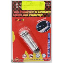 NEW CAR AIR PURIFIER / IONIZER (WHITE)