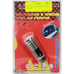 NEW CAR AIR PURIFIER / IONIZER (BLACK)