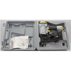POWERFIST COIL ROOFING NAILER IN CASE