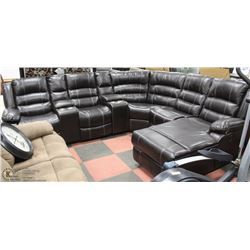 NEW BORDEAUX DELUXE RECLINING CHAISE LOUNGE