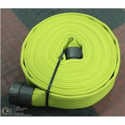 """NEW FIRE HOSE 2-1/2"""" 50FT YELLOW"""