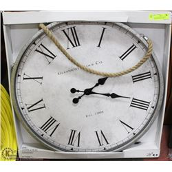 "EXTRA LARGE 28""D, WORKING SHOWHOME WALL CLOCK"