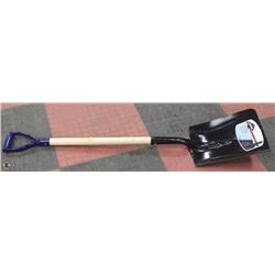 NEW GARANT STEEL SHOVEL BLUE HANDLE