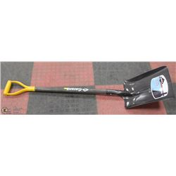 GARANT STEEL SHOVEL YELLOW HANDLE