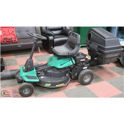 "26"" RIDE ON WEED EATER LAWNMOWER WITH MULCHING"