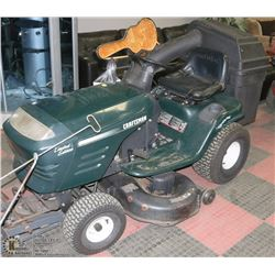 "42"" CRAFTSMAN RIDING LAWNMOWER WITH"