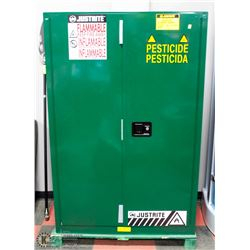 NEW GREEN HD PESTICIDE STORAGE CABINET