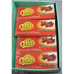 CASE OF 10 CELLA'S CHOCOLATE COVERED CHERRIES