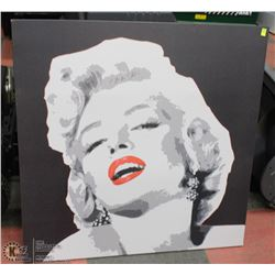 "MARILYN MONROE CANVAS ART 35.5"" X 35.5"""