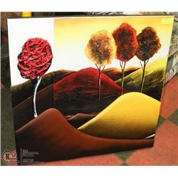 3D AUTUMN COUNTRYSIDE SHOWHOME PICTURE 32 X 32
