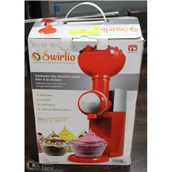 BIG BOSS SWIRLIO DESSERT MAKER.