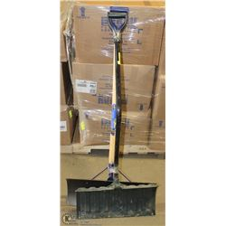 2 SNOW SHOVELS - ALUMINUM & ERGONOMIC