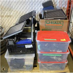 PALLET OF COMPUTER HARDWARE & SOFTWARE -