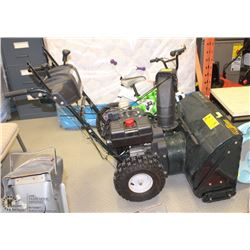 "LARGE 10.5"" HP SNOWBLOWER YARDWORKS WITH"