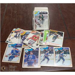 ASSORTMENT OF OVER 60 VINTAGE HOCKEY CARDS