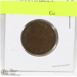 1909 CANADIAN LARGE PENNY