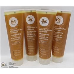 4-296ML BOTTLES OF BE BETTER MACADAMIA NUT SHAMPOO