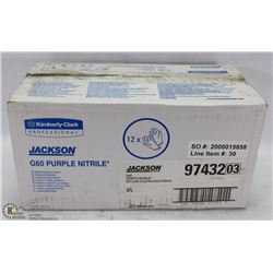 6 BOXES OF JACKSON SAFETY PURPLE NITRILE GLOVES