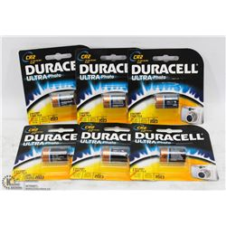 TWO BOXES OF DURACELL CR2 LITHIUM BATTERIES