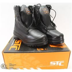 STC STEEL TOES WORKBOOTS SZ 5