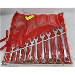 11PC COMBINATION WRENCH SET.