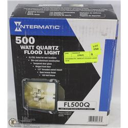 INTERMATIC 500WATT FLOOD LIGHT NEW.