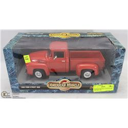 AMERICAN MUSCLE 1/18 SCALE DIE CAST RED 1956
