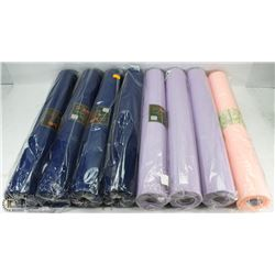BOX OF 8 WOVEN FLORAL WRAP