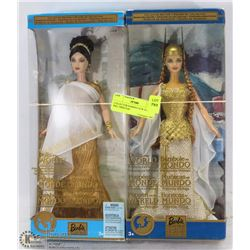 COLLECTOR BARBIES NEW IN BOXES INCL PRINCESS