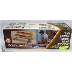 WORKMATE TABLE TOP ALL PURPOSE WORK CENTER AND