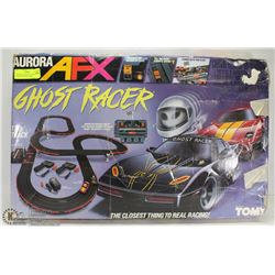 VINTAGE AURORA AFX GHOST RACER WITH EXTRA CARS