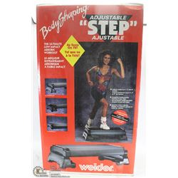 WEIDER BODY SHAPING ADJUSTABLE STEP NEW IN BOX
