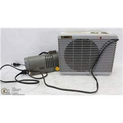 2 ELECTRIC HEATERS WITH BLOWERS