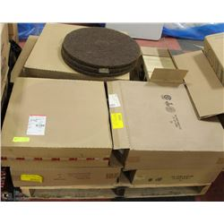 PALLET OF NEW FLOOR SCRUBBERS & POLISHERS