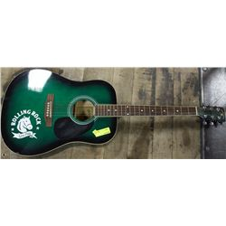ROLLING ROCK EXTRA PALE ACOUSTIC GUITAR