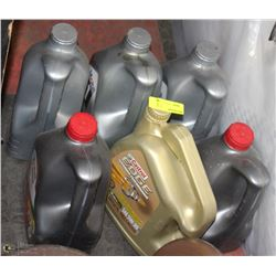 SIX 4L BOTTLE OF 5W-20 AND 5W-30 MOTOR OIL
