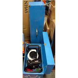 "JILLY GAS ICE AUGER & AUGER IN 2 BOXES ""BLUE"""